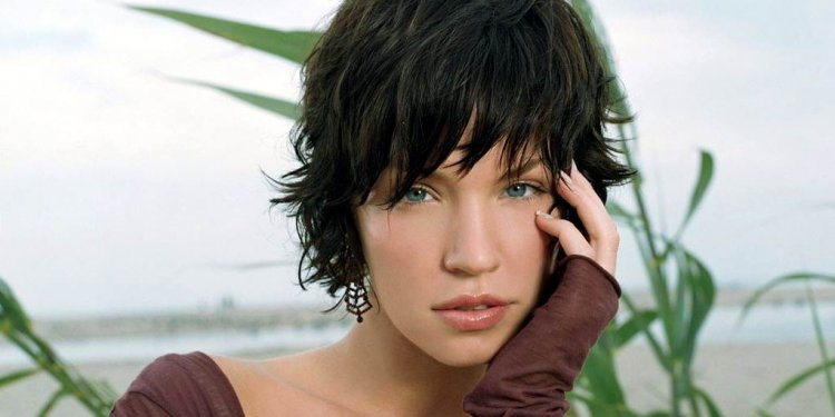 Hairstyles Short Bangs