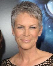 Jamie Lee Curtis is something of a poster girl for natural beauty over 50, so it's no surprise that her gray pixie is one of our favorite hair styles . Description from pinterest.com. I searched for this on bing.com/images