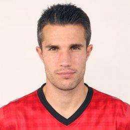 Robie Van Persie with a Crew Cut haircut and hairstyle.