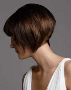Short Chin-Length Hairstyles Side View