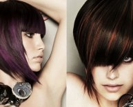 Cute bob haircuts with bangs