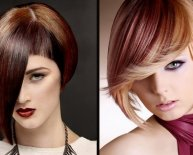 Different styles for Bob haircuts